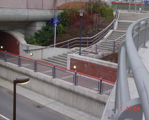 Geländer Bahnhof Appenweier
