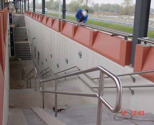 Geländer Bahnhof Baden-Baden
