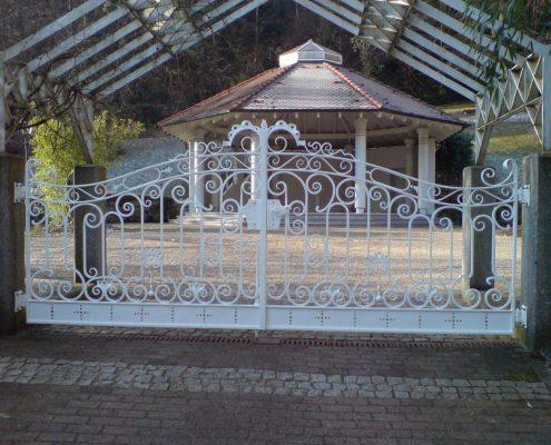 Restauration eines Tores